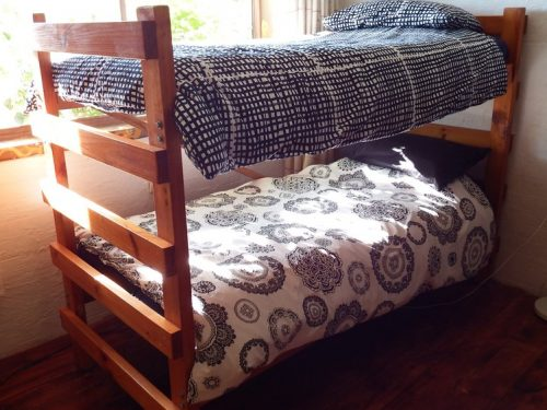 Bedroom three with bunk beds